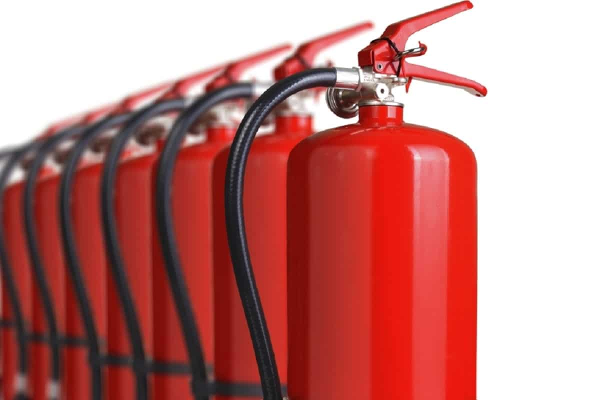 Fire Extinguishers Red