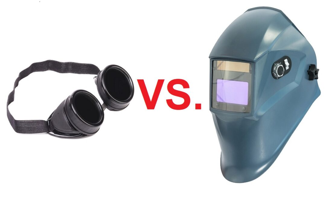 Welding Safety Glasses vs Welding Helmets