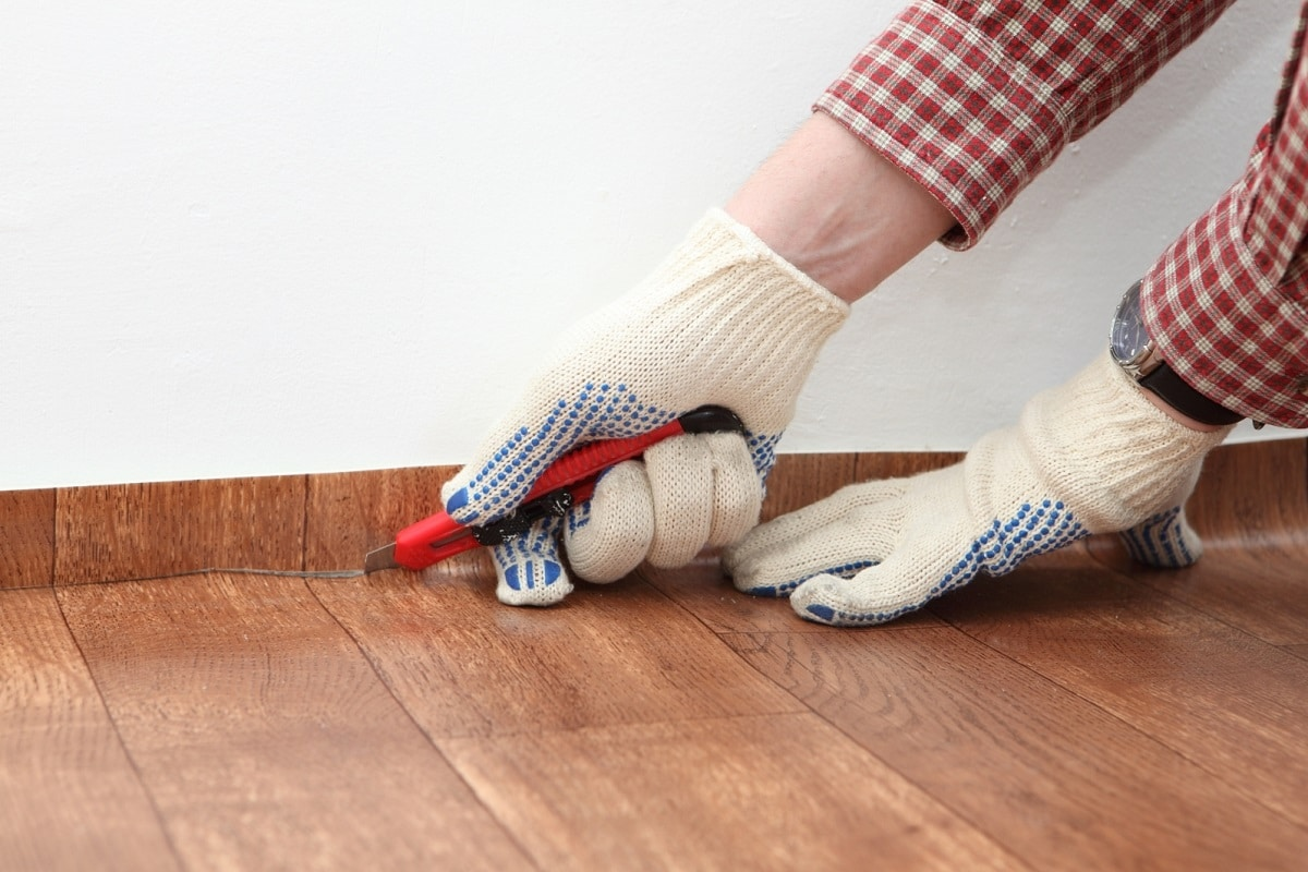 Cut Resistant Gloves Linoleum Floor