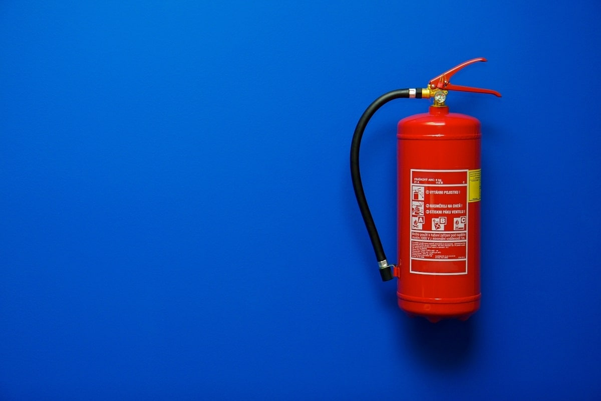 Type Of Fire Extinguisher