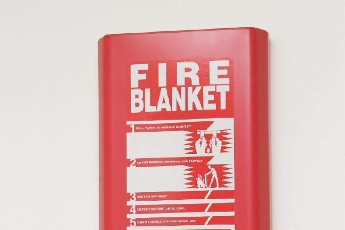 Where To Place Fire Blanket