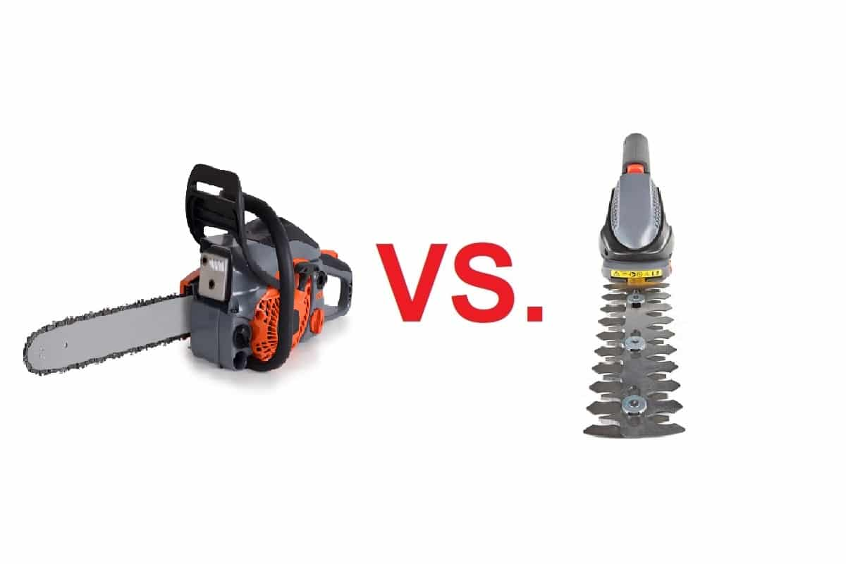 Chainsaw Vs Hedge Trimmer